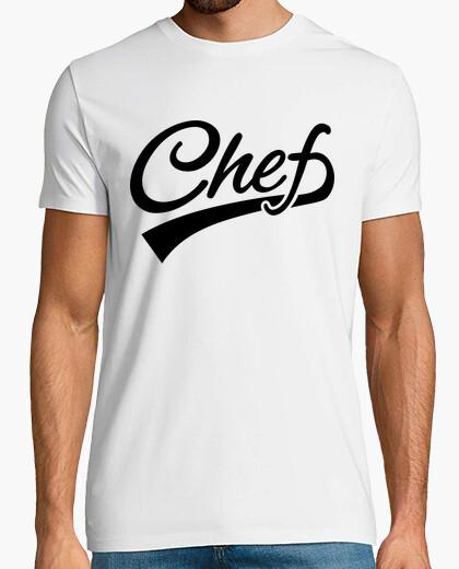 Tee-shirt chef cuisinier