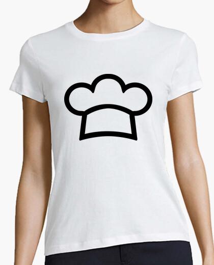 Tee-shirt chef cuisinier chapeau