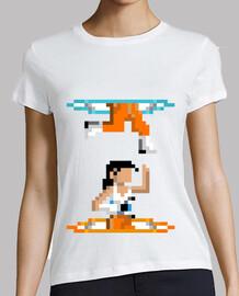 Chell Portal Pixel Hero