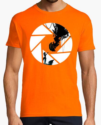 Camiseta Chell y Glados - Portal