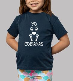 chemise à manches courtes enfant / a i love les cobayes