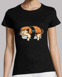 chemise à sushi neko femme