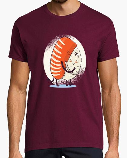 Tee-shirt chemise à sushis