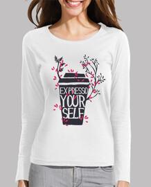 chemise amoureux du café