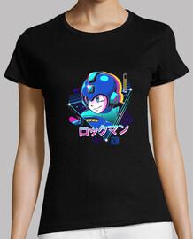 chemise aviateur lofi bleu femme