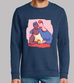 chemise couple amoureux