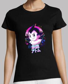 chemise d'atome puissant lofi femme