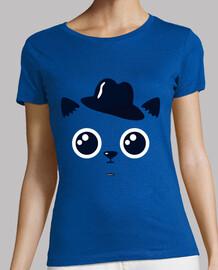 chemise de chat femme, manches courtes, différentes couleurs, qualité supérieure