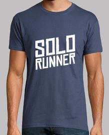 chemise de coureur individuel