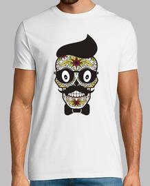 chemise de crâne mexicain