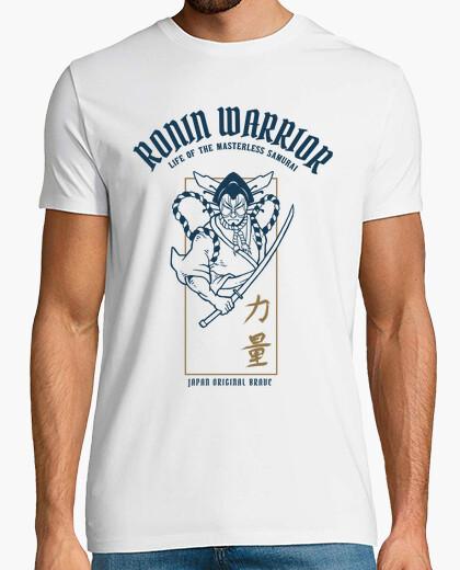 Tee-shirt chemise de guerriers kabuki japonais
