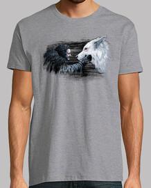 chemise de neige et fantôme