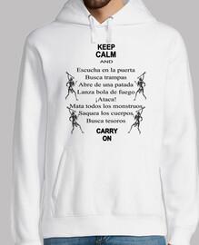 chemise de rôle - keep calm -