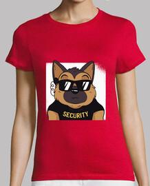 chemise de sécurité berger allemand