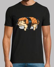 chemise de sushi neko mens