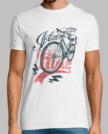 chemise de vélo rétro vintage