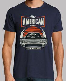 chemise de voiture de muscle vintage rétro de 1964