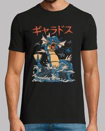 chemise d'eau volante kaiju