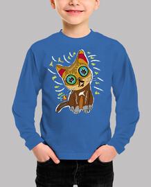 chemise enfant chat
