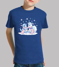 chemise formes glaciales enfants