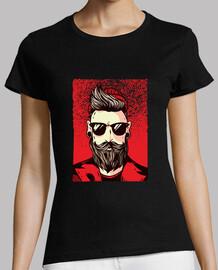 chemise hipster barbu