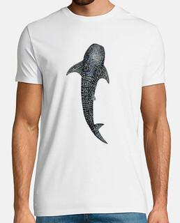 chemise homme requin baleine