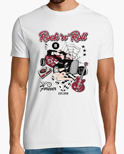 Hot Rod 58 Garage Chemise Travail Vintage Rockabilly American Rat Voiture Fer Coupe 62