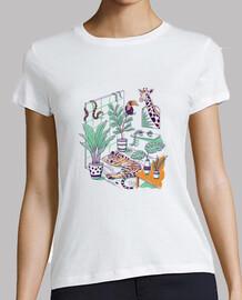 chemise jungle urbaine femme