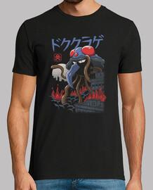 chemise kaiju poison hommes