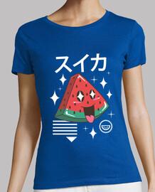 chemise kawaii pastèque femme