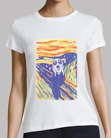 chemise kawaii scream femme
