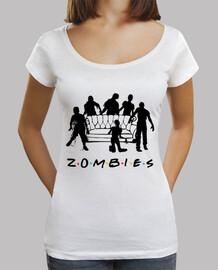 chemise longue coupe femme zombies
