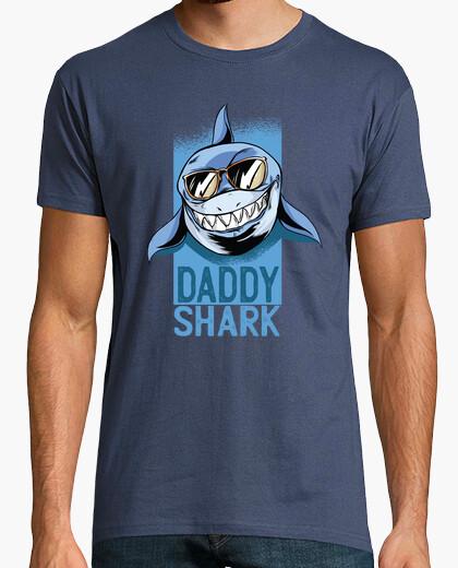 Tee-shirt chemise papa requin