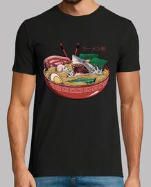 chemise ramen shark mens