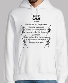 chemises RPG - keep le calm