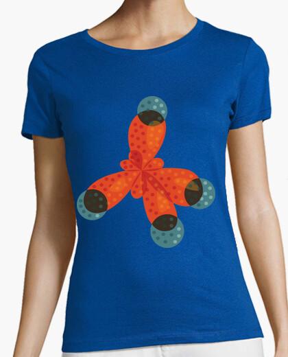 Camiseta Chemistry Love Orange Methane Molecule