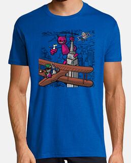 chesire cat kong boy t-shirt