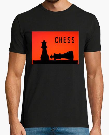 Camiseta Chess silhouette