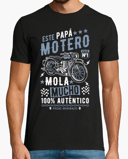 T-shirt chesto papà biker è molto figo