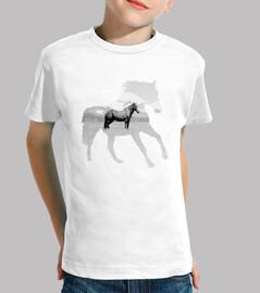 cheval calme