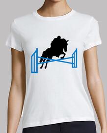 cheval de saut d'obstacles