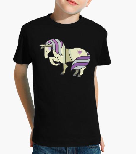 Vêtements enfant cheval tatoué
