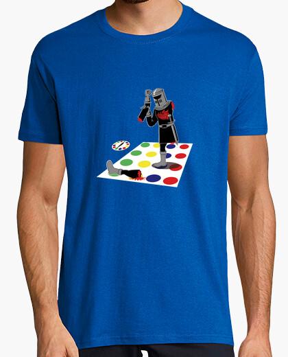 Tee-shirt chevalier noir - twister