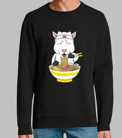chèvre animal manger ramen
