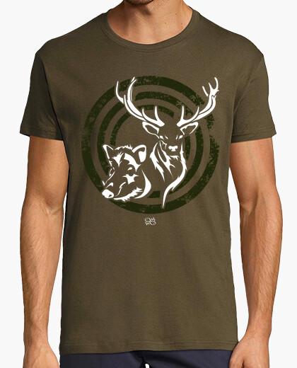 Tee-shirt chevreuil sanglier