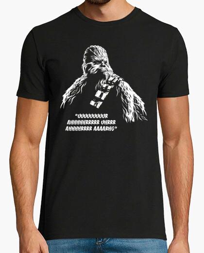 Camiseta Chewbacca - Uuuuuuuuur Ahhhhhrrrrr Uhrrr (La Guerra de las Galaxias)