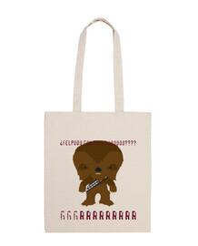 chewbacca sac à bandoulière