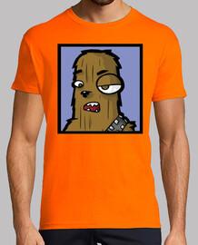 Chewbacca Star Wars StarWars camisetas frikis friki