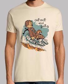 chewie et porg