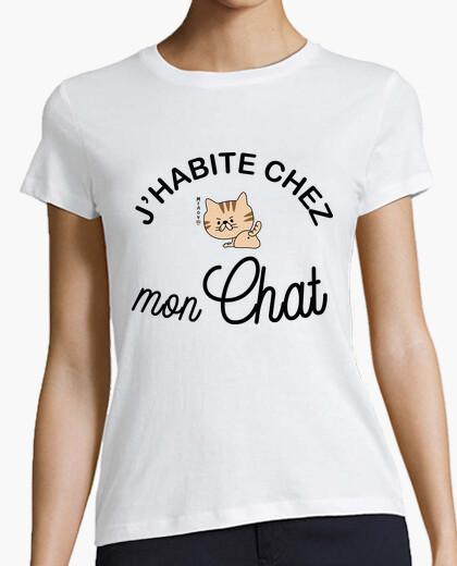 Tee-shirt Chez mon chat
